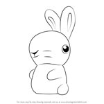 How to Draw The Bunnies from Gnomeo & Juliet
