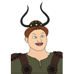 How to Draw Phlegma the Fierce from How To Train Your Dragon 3