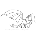 How to Draw Night Fury from How to Train Your Dragon
