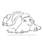 How to Draw Heen from Howl's Moving Castle