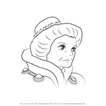How to Draw Madame Suliman from Howl's Moving Castle