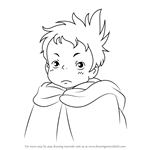 How to Draw Markl from Howl's Moving Castle