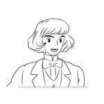 How to Draw Prince Justin from Howl's Moving Castle