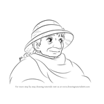 How to Draw Sophie Old from Howl's Moving Castle