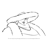 How to Draw Witch of the Waste from Howl's Moving Castle