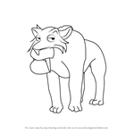 How to Draw Oscar from Ice Age