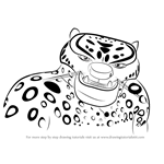 How to Draw Tai Lung from Kung Fu Panda 3