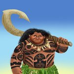 How to Draw Maui from Moana