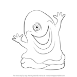 How to Draw B.O.B from Monsters vs. Aliens