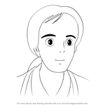 How to Draw Yasuko Kusakabe from My Neighbor Totoro