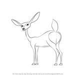 How to Draw Giselle from Open Season