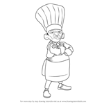 How to Draw Skinner from Ratatouille