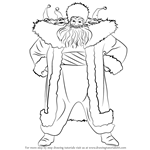 How to Draw North from Rise of the Guardians