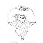 How to Draw Sandy from Rise of the Guardians