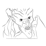 How to Draw Bog King from Strange Magic