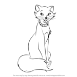 How to Draw Duchess from The Aristocats