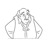 How to Draw Dallben from The Black Cauldron