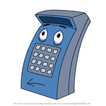 How to Draw Calculator from The Brave Little Toaster
