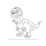How to Draw Butch from The Good Dinosaur