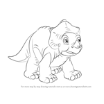 How to Draw Cera from The Land Before Time