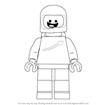 How to Draw Benny from The LEGO Movie