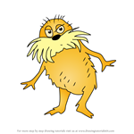 How to Draw The Lorax from The Lorax