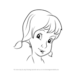 How to Draw Penny from The Rescuers