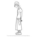 How to Draw Jude Lizowski from 6teen