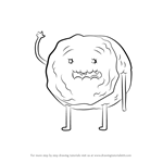 How to Draw Cinnamon Bun from Adventure Time