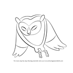 How to Draw Cosmic Owl from Adventure Time