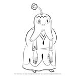 How to Draw Life Giving Magus from Adventure Time