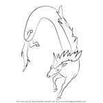 How to Draw Lord Monochromicorn from Adventure Time