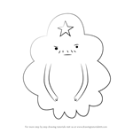 How to Draw Lumpy Space Prince from Adventure Time