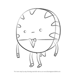 How to Draw Peppermint Butler from Adventure Time
