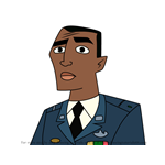 How to Draw Colonel Hank Carter from American Dragon Jake Long