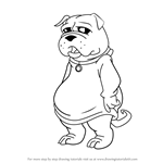 How to Draw Fu Dog from American - Dragon Jake Long