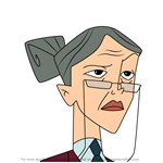 How to Draw Mrs. Grumplestock from American Dragon Jake Long