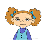 How to Draw Olivia Mears from American Dragon Jake Long