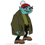 How to Draw Ralph the Goblin from American Dragon Jake Long