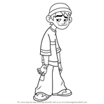 How to Draw Spud from American - Dragon Jake Long