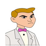 How to Draw Thad Rochefort-Chaise from American Dragon Jake Long