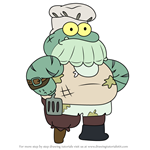 How to Draw Stumpy from Amphibia