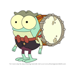 How to Draw Toadie from Amphibia