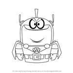 How to Draw Atomic Puppet from Atomic Puppet