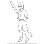How to Draw Aang from Avatar The Last Airbender
