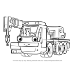 How to Draw Lofty from Bob the Builder 2015