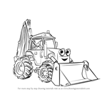 How to Draw Scoop from Bob the Builder 2015