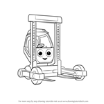 How to Draw Shifter from Bob the Builder 2015