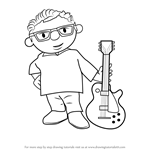 How to Draw Lennie Lazenby from Bob the Builder