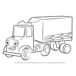 How to Draw Packer from Bob the Builder